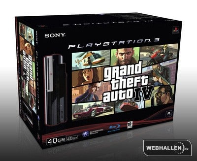 GTA IV 40GB PlayStation 3 bundle surfaces in Europe | Engadget