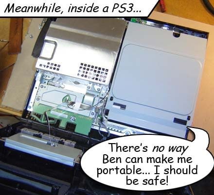 How-to: Make a PS3 Laptop of your very own (part 1)