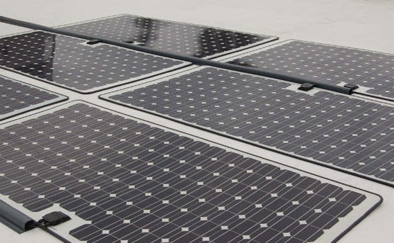 Lumeta S Quot Peel Amp Stick Quot Solar Panels Can Blanket A Roof In
