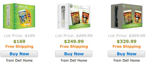 xbox 360 holiday bundle prices slashed with dell coupon magic