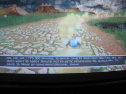 Banjo Kazooie: Nuts & Bolts text unreadable on SDTVs, no fix