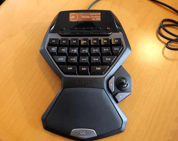Hand-on with Logitech's G13 Gameboard