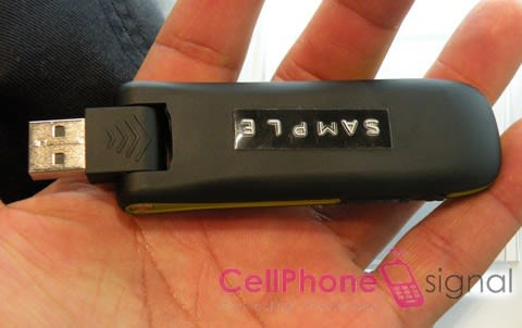 Huawei's UMG181 USB modem for T-Mobile in the wild