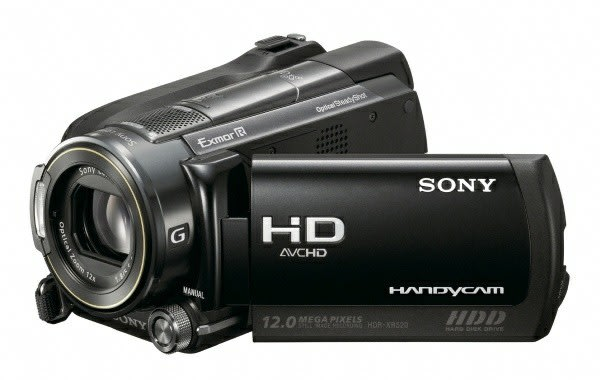 Sony shows off GPS packing 1080p camcorders