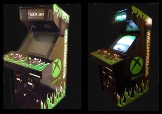 Xbox 360 Arcade Cabinet The Games You Love At A Price You