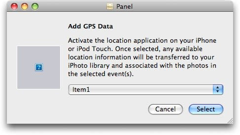 Apple to use iPhone's GPS to geotag locationless photos?
