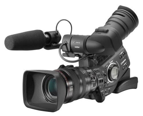 Canon working on DSLR-based pro video camera?