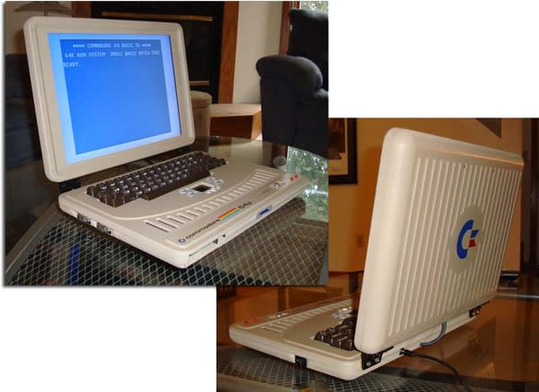 Ben Heck's Commodore 64 laptop mod: like 1982 without the feathered hair