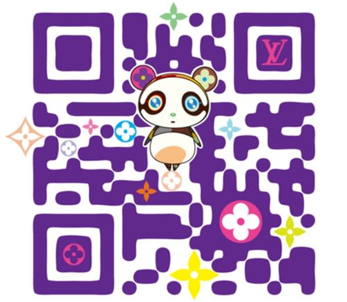Takashi Murakami And Louis Vuitton Make Qr Codes Fun Again