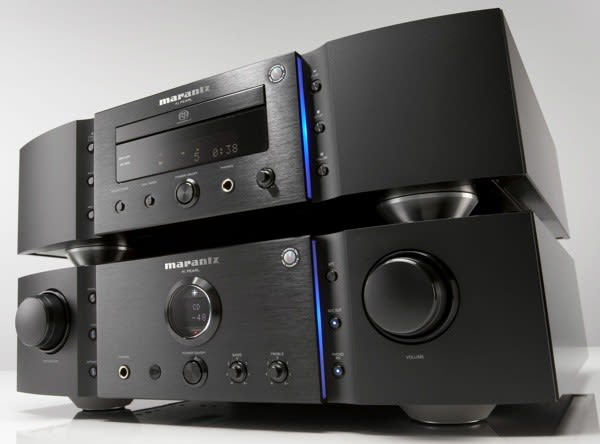 Marantz KI Pearl SACD player and integrated amp