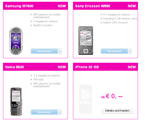 32gb Iphone Placeholder Appears At T Mobile Austria