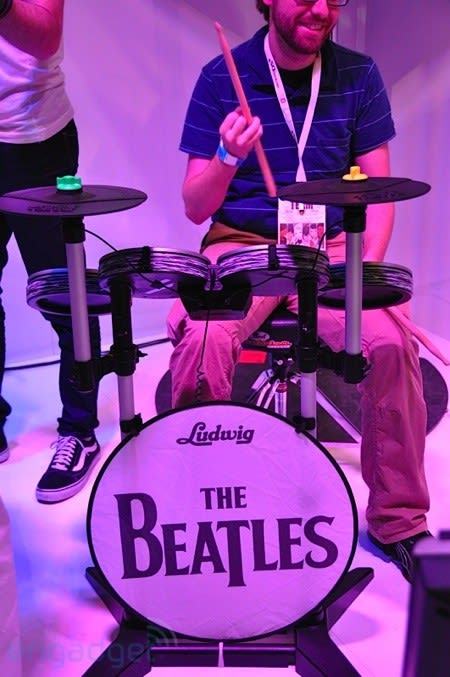 The Beatles: Rock Band hands-on!
