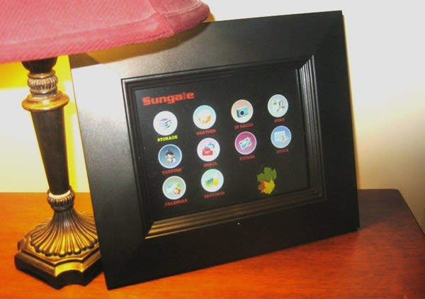 Sungale Wifi Widget Photo Frame Gets A Hands On