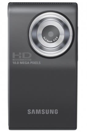 Samsung HMX-U10 Full HD camcorder with 1-button YouTube