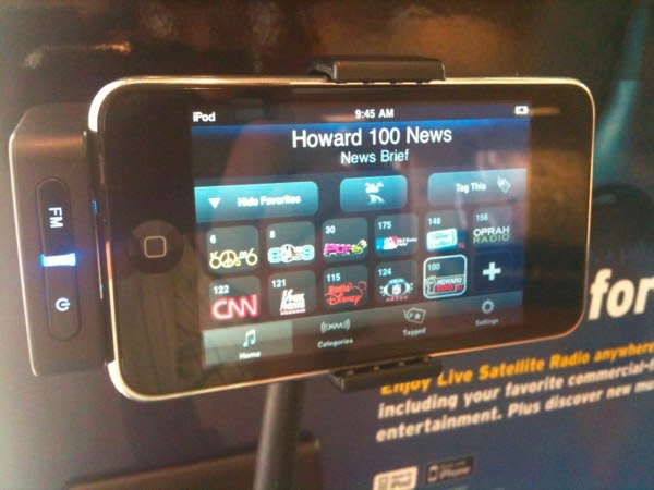 Sirius XM announces SkyDock for iPhone and iPod touch