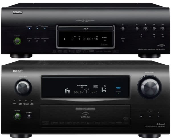 Denon keeps high-end covered with AVR-4810CI receiver, DBP-4010CI