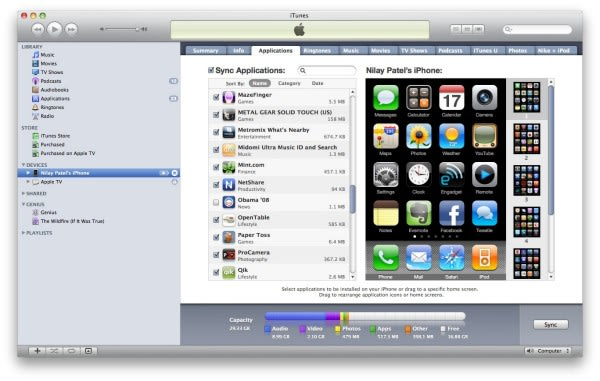 Video: iTunes 9 Home Sharing and iPhone app management