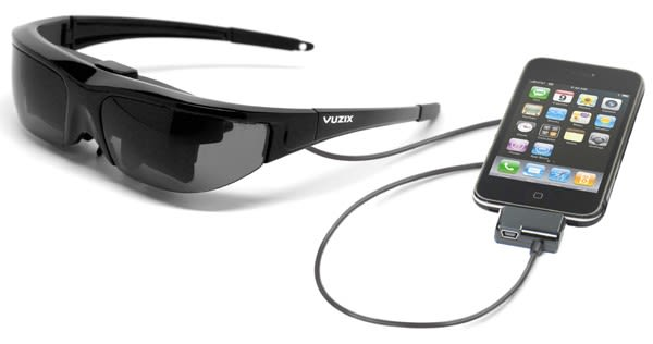 dccf0aa9e Has Vuzix actually deployed a video eyewear solution that isn't completely  unsightly in every imaginable way? Our eyes may be deceiving us, but we're  going ...