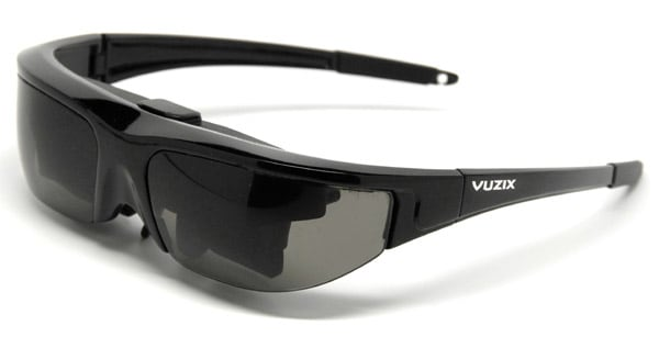 dbc63378f Vuzix's $249.95 Wrap 310 is probably the least hideous / heinous of the  video eyewear options on the market today, and while it's still take a few  bottles ...