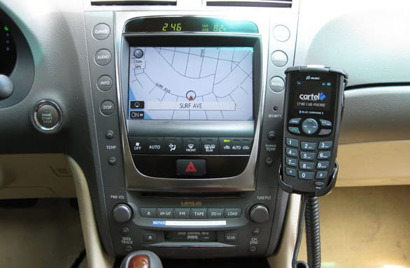 Cartel's CT-2000 in-car Bluetooth handset adds music control