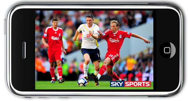iPhone gets live Sky Mobile TV, O2 offering 3 months' free