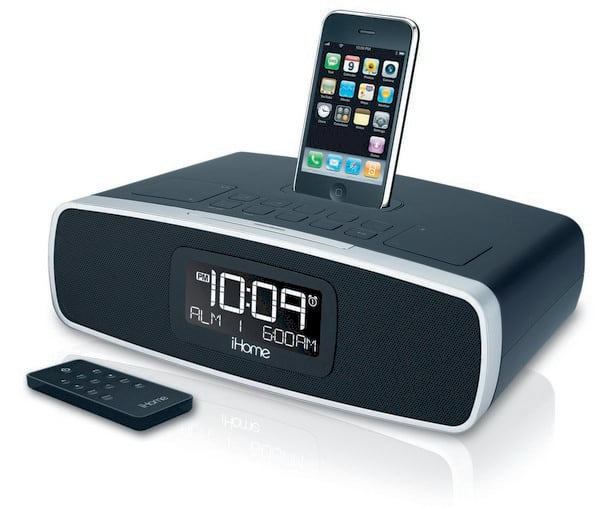 iHome's new clock radios will ensure neither you nor your