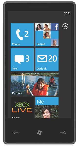 Windows Phone 7 Series Is Official And Microsoft Playing