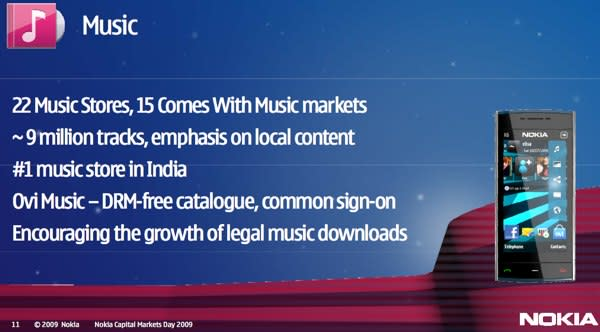 Mobileyog: nokia music becomes ovi music, drm free(almost)!!! In.