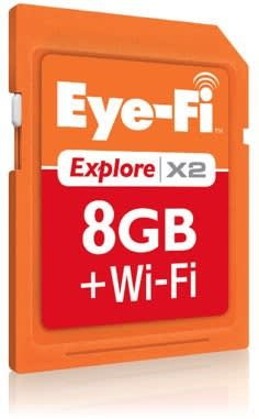 Eye-Fi X2 series of 802 11n Class 6 cards ships today, AT&T