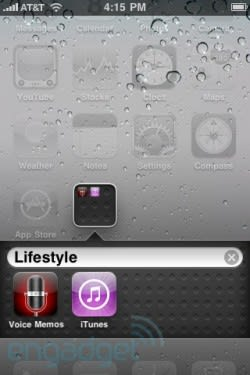 iOS 4 gold works with any compatible iPhone / iPod touch via