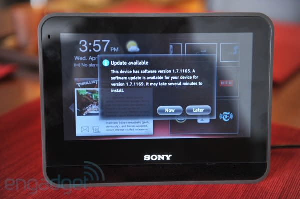 Sony Dash software update adds USB playback by month's end