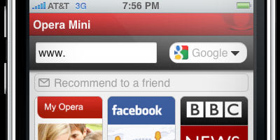 Opera Mini for iPhone approved, will be available for free (update