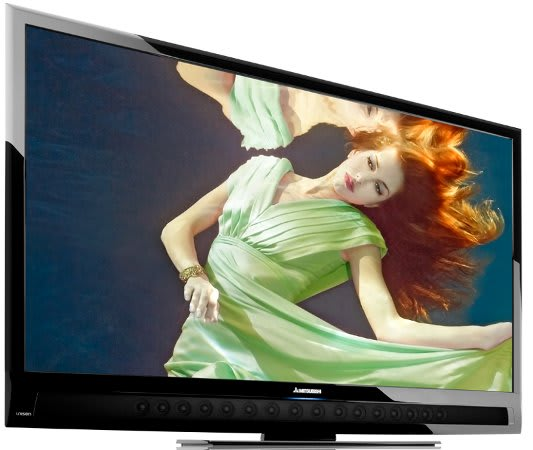Mitsubishi S Unisen Lcd Hdtvs Now With More Speakers Led Wifi