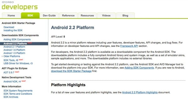 Android 2 2 SDK goes live, developers likely unable to crash