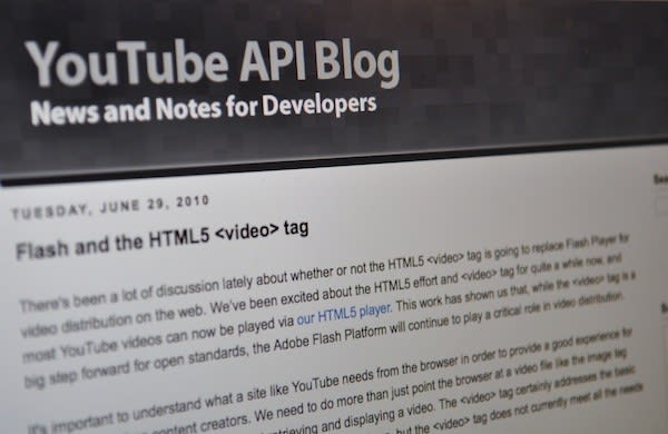 Google: HTML5 is good, Flash is the 'best platform' for