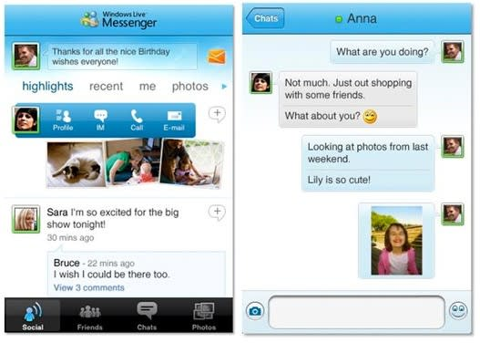 Windows Live Messenger comes to iPhone
