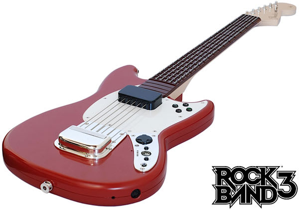 Rock Band 3's gear priced: keytar and Pro guitar sport MIDI