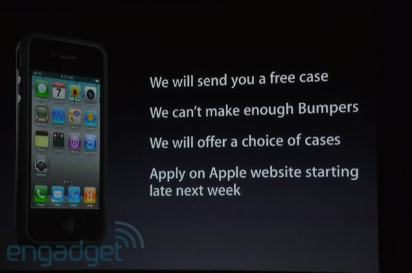 Le To Give Away Free Cases Iphone 4 Users Engadget