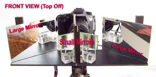 DIY stereoscopic splitter takes your pictures to the third