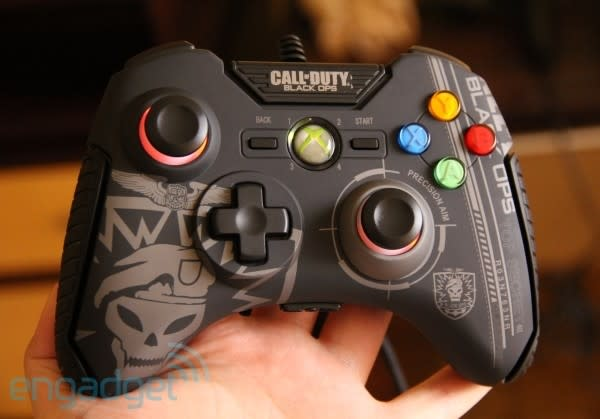 Mad Catz's Black Ops PrecisionAim gamepads and Stealth mouse
