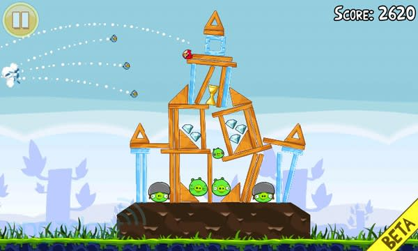 Image result for Angry Birds game