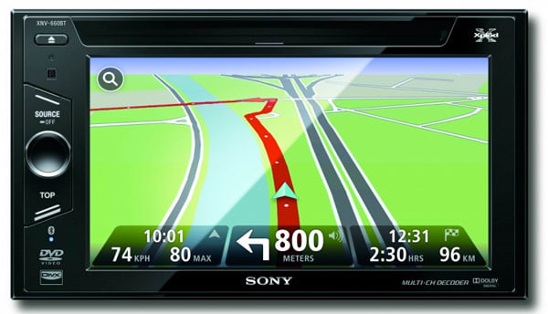 Sony brings TomTom to US-bound XNV-770BT and XNV-660BT in