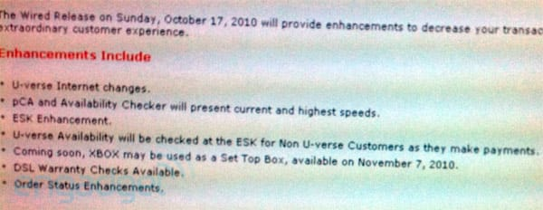 AT&T U-verse customers can use Xbox 360 as a set-top box
