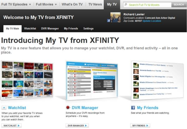 Comcast updates Xfinity TV with new search, My TV features & 150,000