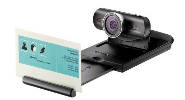 Creative hits 1080p with its Live! Cam Socialize HD webcam, launches