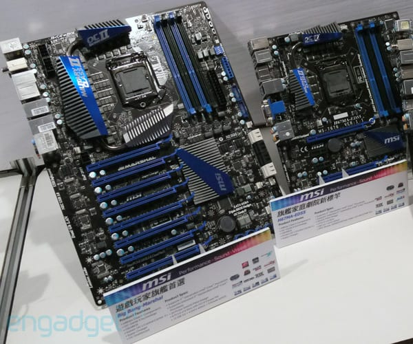 MSI reveals mad Sandy Bridge motherboard with eight PCIe