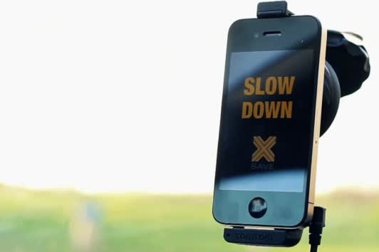 slow down app slows down your tunes until you slow down your car video. Black Bedroom Furniture Sets. Home Design Ideas
