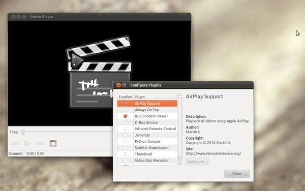AirPlay video support comes to Linux courtesy of Totem media player