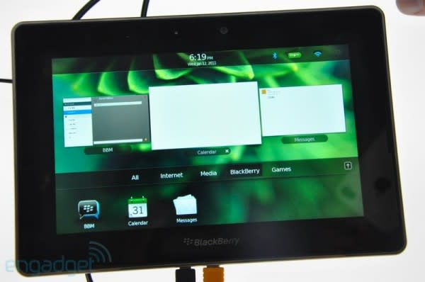 BGR: BlackBerry PlayBook to possibly use Android's Dalvik virtual