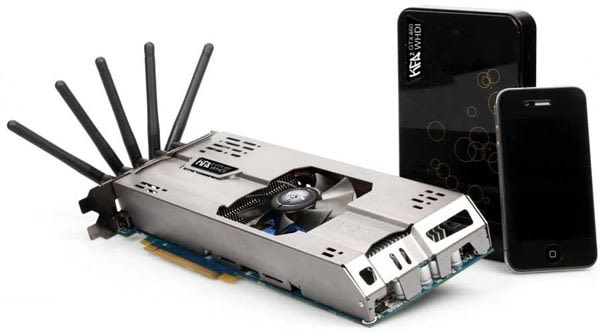 KFA2 NVIDIA GeForce GTX 460 WHDI graphics card is first to